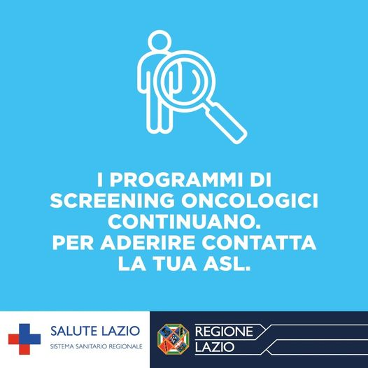 Screening oncologici Asl RM5